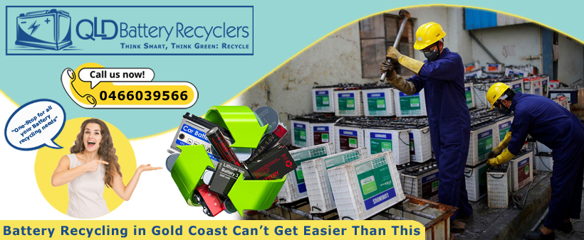 Battery Recyclers Gold Coast